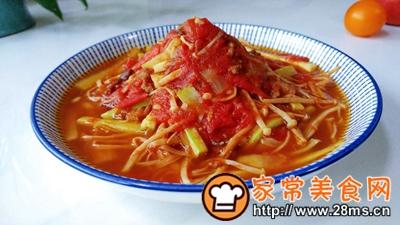 做正宗菇瓜肉酱茄茄汤的图片步骤7