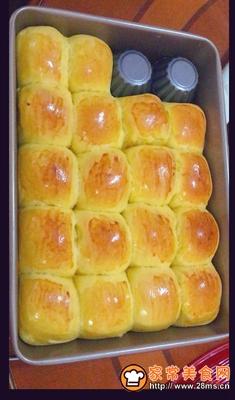 做正宗南瓜红豆小餐包的图片步骤11