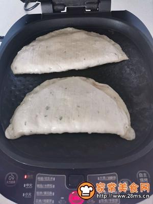 做正宗不用和面的快手营养早餐手抓饼菜盒的图片步骤6