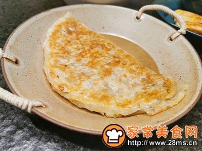 做正宗不用和面的快手营养早餐手抓饼菜盒的图片步骤7
