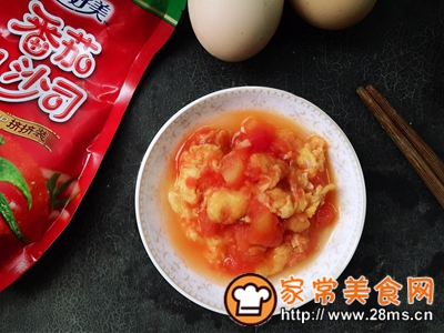 做正宗新手小白必学菜番茄炒鸡蛋的图片步骤4