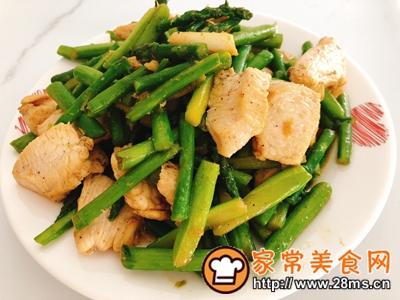 做正宗芦笋炒鸡胸肉的图片步骤9
