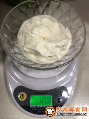 做正宗小白都会做的生酮无蛋冰激凌的图片步骤7