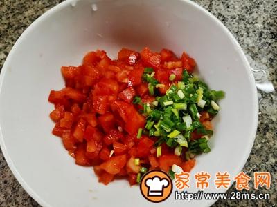 做正宗西红柿香葱鸡蛋饼的图片步骤2