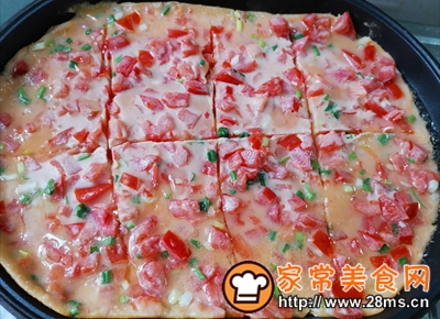做正宗西红柿香葱鸡蛋饼的图片步骤6