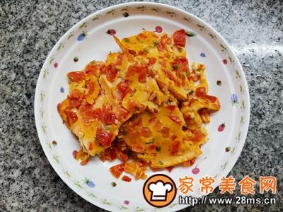 做正宗西红柿香葱鸡蛋饼的图片步骤8