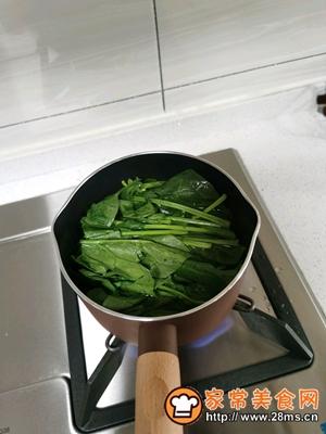 做正宗菠菜手擀面的图片步骤2