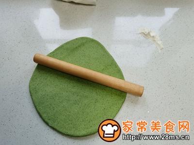 做正宗菠菜手擀面的图片步骤8