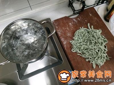 做正宗菠菜手擀面的图片步骤12