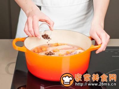 做正宗鸡肉火腿粥的图片步骤2
