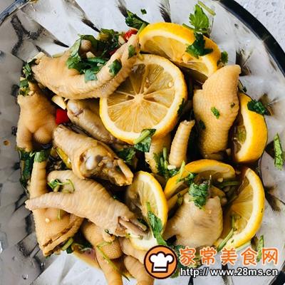 做正宗凉拌柠檬鸡爪的图片步骤6