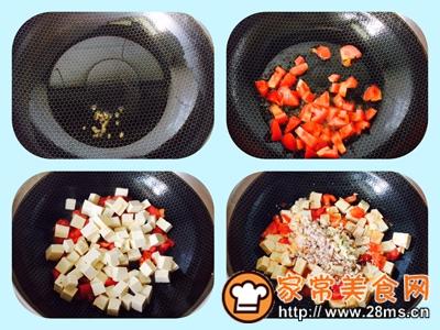 做正宗西红柿炒豆腐的图片步骤4