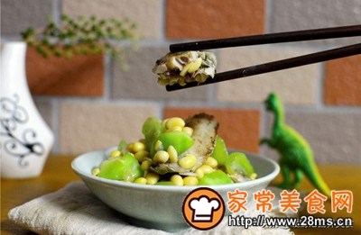 做正宗小满节气美食:黄豆烩丝瓜配低温鱼柳的图片步骤10