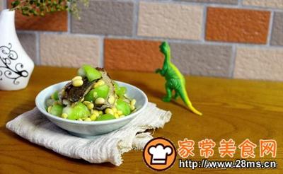做正宗小满节气美食:黄豆烩丝瓜配低温鱼柳的图片步骤11