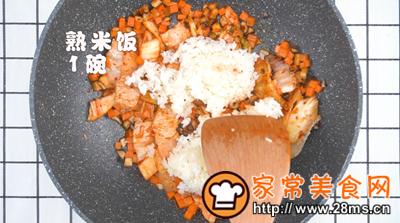 做正宗泡菜炒饭的图片步骤6