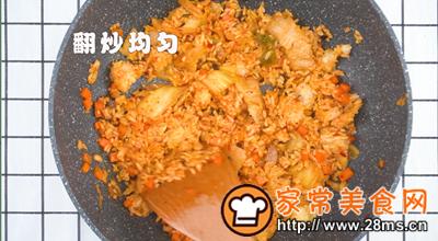 做正宗泡菜炒饭的图片步骤7