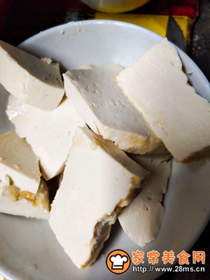 做正宗煎豆腐的图片步骤1