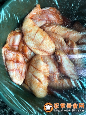 做正宗奥尔良烤鸡翅的图片步骤4