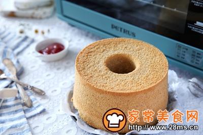 做正宗黑全麦7寸戚风蛋糕的图片步骤11