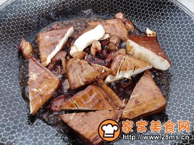 做正宗家乐浓汤宝煮五花肉豆腐干的图片步骤12