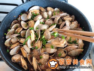 做正宗干锅粉丝蛤蜊的图片步骤10