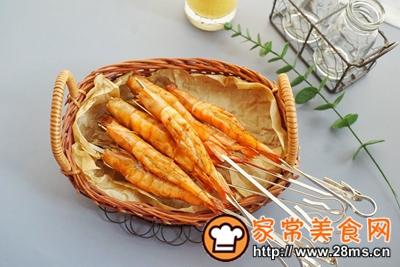 做正宗香烤酱汁虾串的图片步骤10