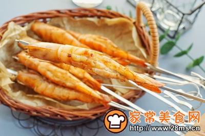 做正宗香烤酱汁虾串的图片步骤12