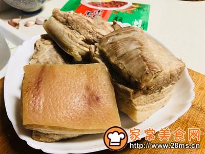 做正宗春笋卤肉饭的图片步骤2
