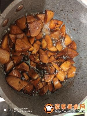 做正宗减肥美食三杯鸡腿菇的图片步骤6