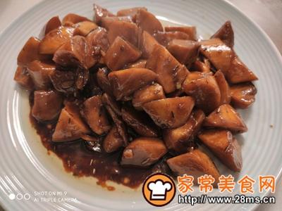 做正宗减肥美食三杯鸡腿菇的图片步骤7