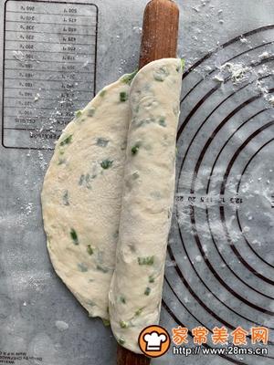 做正宗香香脆脆葱油饼的图片步骤20