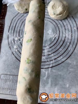 做正宗香香脆脆葱油饼的图片步骤21