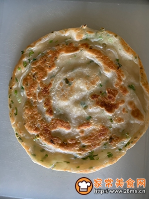 做正宗香香脆脆葱油饼的图片步骤27