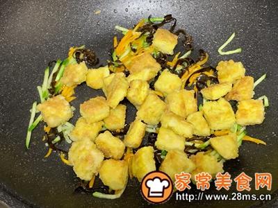 做正宗鱼香鸡蛋豆腐的图片步骤8