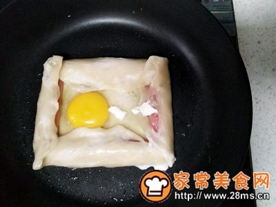 做正宗美味火腿鸡蛋饼的图片步骤3