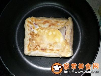 做正宗美味火腿鸡蛋饼的图片步骤5