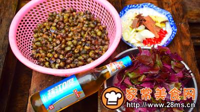 做正宗紫苏炒石螺的图片步骤1