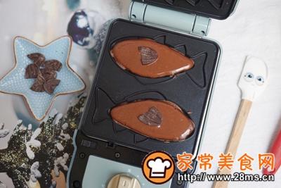 做正宗巧克力爆浆小鱼的图片步骤5