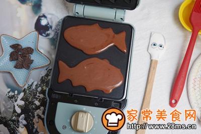 做正宗巧克力爆浆小鱼的图片步骤6