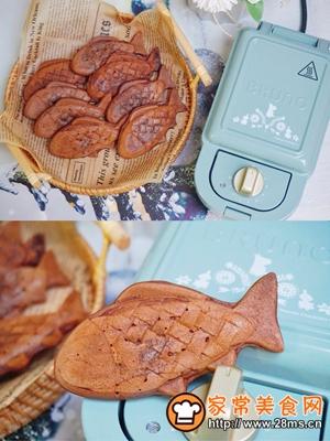 做正宗巧克力爆浆小鱼的图片步骤7