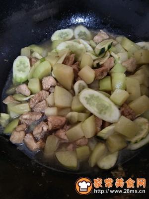做正宗咖喱土豆炖鸡胸肉的图片步骤11