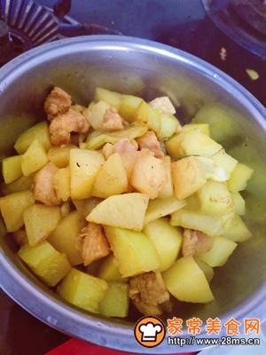 做正宗咖喱土豆炖鸡胸肉的图片步骤13