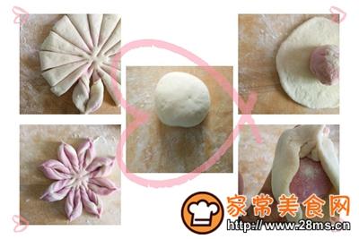 做正宗面食记豆沙包和花样馒头的图片步骤3