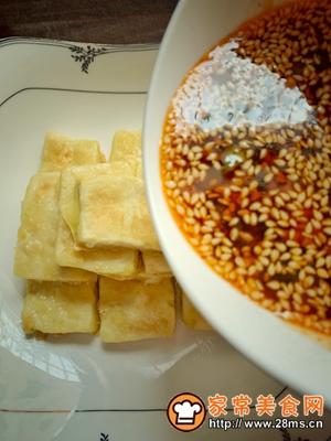 做正宗黄金蘸水豆腐的图片步骤13