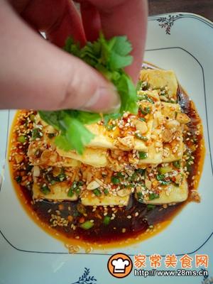 做正宗黄金蘸水豆腐的图片步骤14