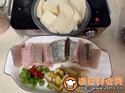 做正宗鲈鱼炖豆腐的图片步骤1