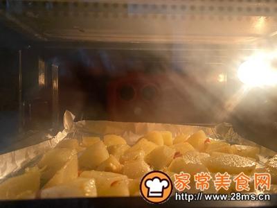 做正宗减肥版烤土豆角的图片步骤4