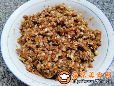 做正宗大蒜猪肉水饺的图片步骤8