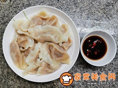 做正宗大蒜猪肉水饺的图片步骤11