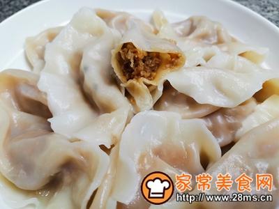 做正宗大蒜猪肉水饺的图片步骤12
